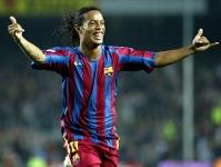 Powrót Ronaldinho na Camp Nou