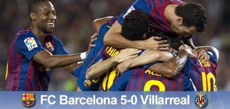 Kolejna manita! Barcelona – Villareal 5:0