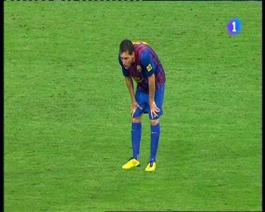 Messi zmagał się z wymiotami
