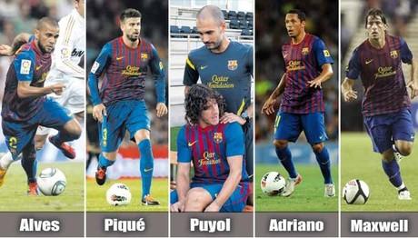 Barça bez obrony w meczu z Villarrealem