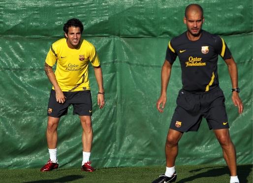 Fabregas juz po pierwszym treningu! + zdjęcia