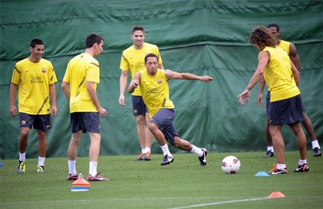 Adriano i Keita wracają do treningów