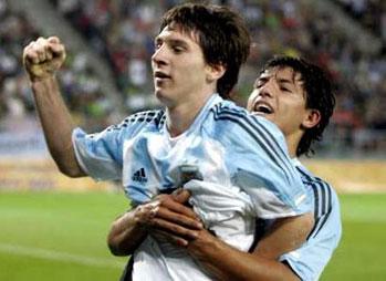 Aguero: Messi najlepszy na świecie