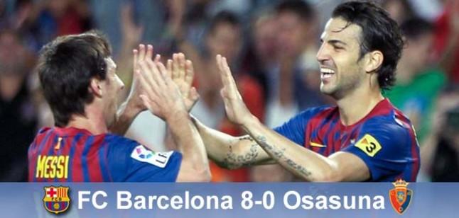 Barcelony odpowiedź na krytykę: Barça – Osasuna 8-0!