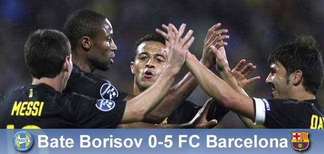 Kolejna manita! BATE – Barça 0:5