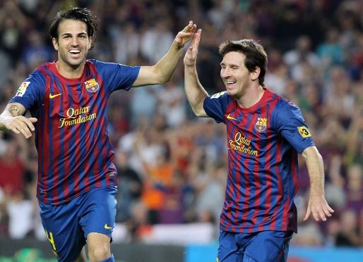 Messi i Cesc, idealne połączenie