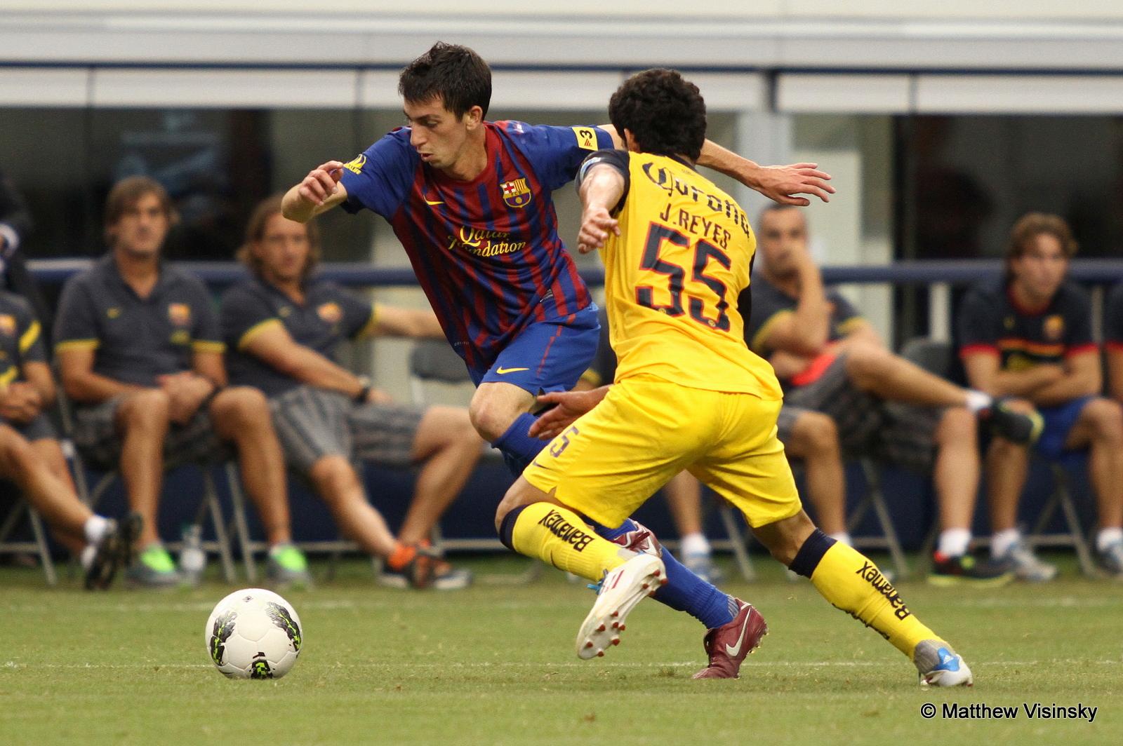 Barça liderem drugiej rundy La Liga