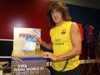 Barça  rozpoczęła głosowanie w FIFApro 2011 Awards
