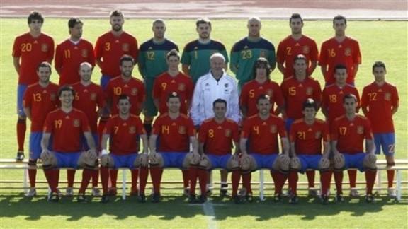 Kadra Hiszpanii w kolorach Blaugrana