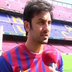 Ranbir Kapoor – fan Barçy