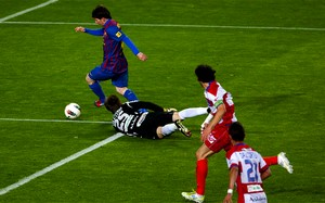 Messi najlepszym strzelcem w historii FC Barcelony