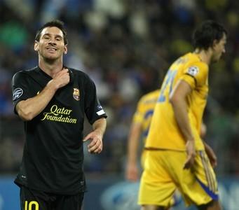 Anegdoty z meczu BATE – Barça