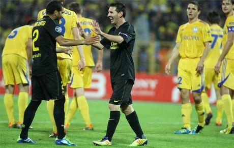 BATE – Barça: najlepsze, najgorsze
