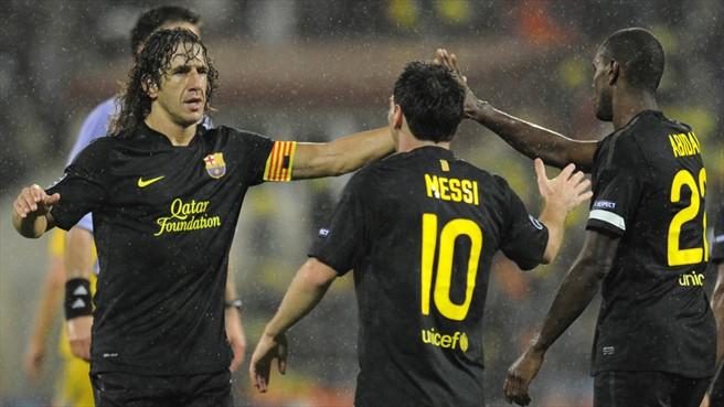Guardiola i Gonczarenko zachwyceni klasą Messiego