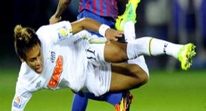W piątek spotkanie Barcelony z Santosem?