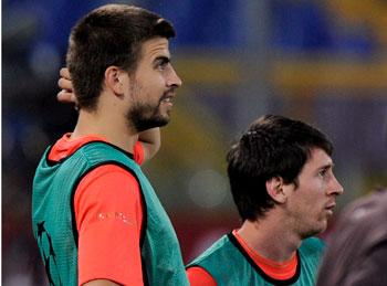 Gerard i Leo twarzami projektu Fundacji FC Barcelony