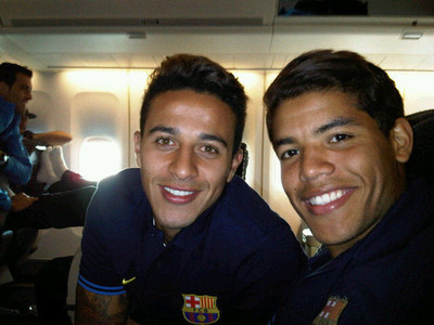 FC Barcelona w drodze do Mińska