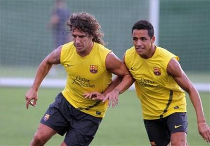 Barça wraca do normalnych treningów