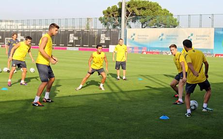 Ostatni trening na Camp Nou