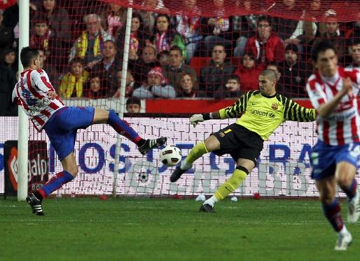 Ze Sportingiem Gijón 2 października