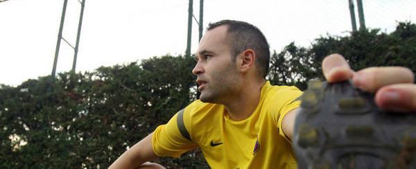 Andrés Iniesta – antywirus Barçy