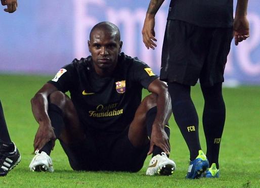 Abidal: Guardiola byłby zły