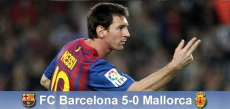 Manita najlepsza na krytykę! Barcelona – Mallorca 5:0