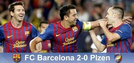 Barcelona przebija się przez mur Viktorii, Barça – Viktoria 2:0