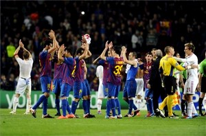 Barça zdobyła w Lidze Mistrzów 22 mln euro