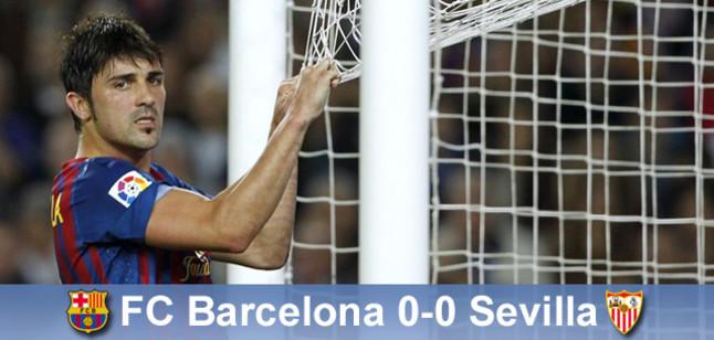 Varas powstrzymał Messiego, Barça – Sevilla 0:0