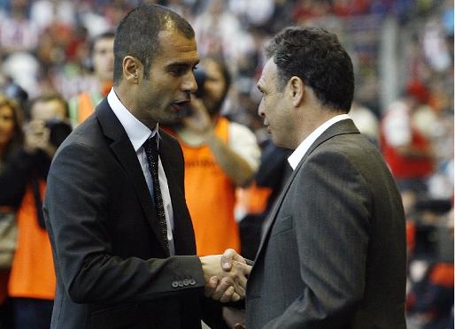 Guardiola niepokonany przez Caparrósa