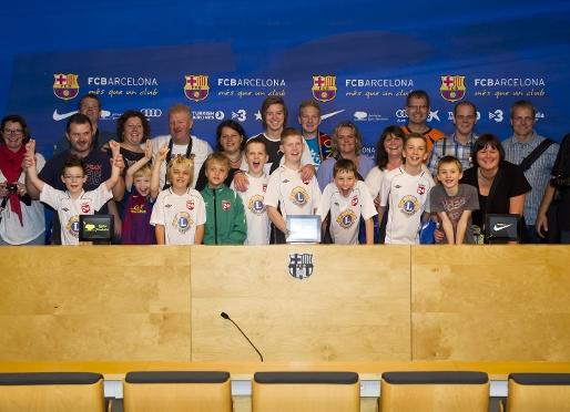 FC Barcelona znów uszczęśliwia dzieci