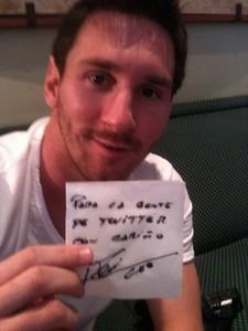 Messi: Nie opuszcze Barcelony
