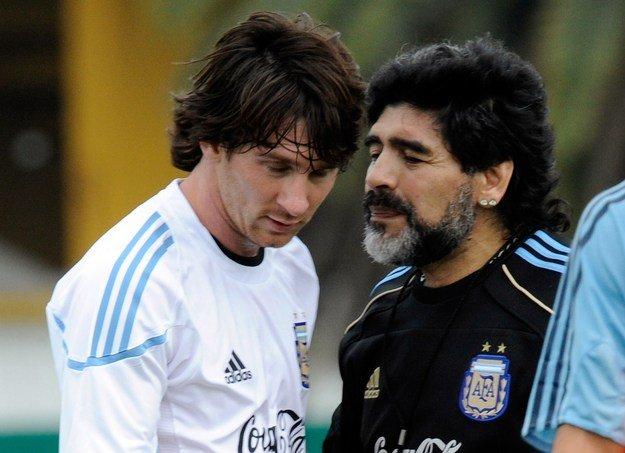 Maradona: Messi zauważył, że Ronaldo jest za nim