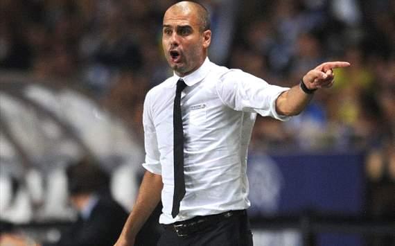 Guardiola gratuluje Sevilli