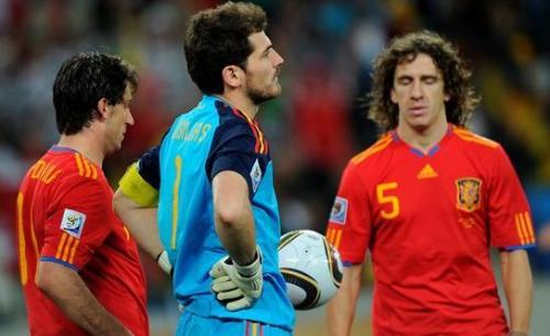 Casillas zadowolony z powrotu Puyola