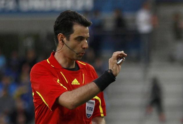 Macedończyk sędzią w meczu LM