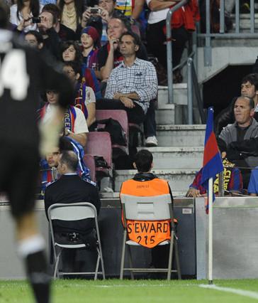 Mecz (nie) widziany okiem stewarda na Camp Nou
