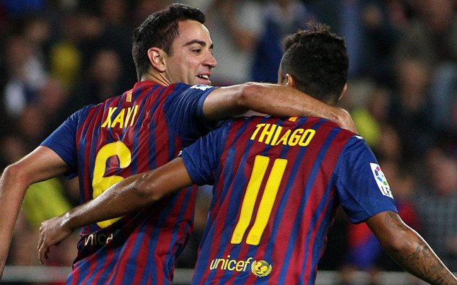 Xavi: To przywilej grać razem z Thiago