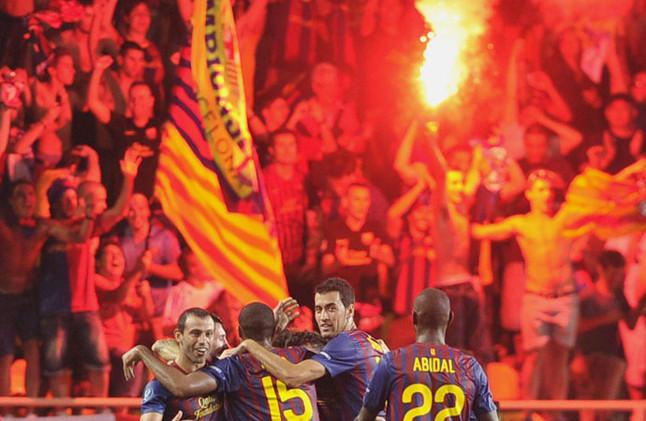 UEFA ukarała FC Barcelonę