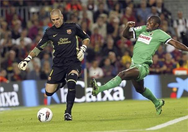 Nietypowa reakcja Valdésa