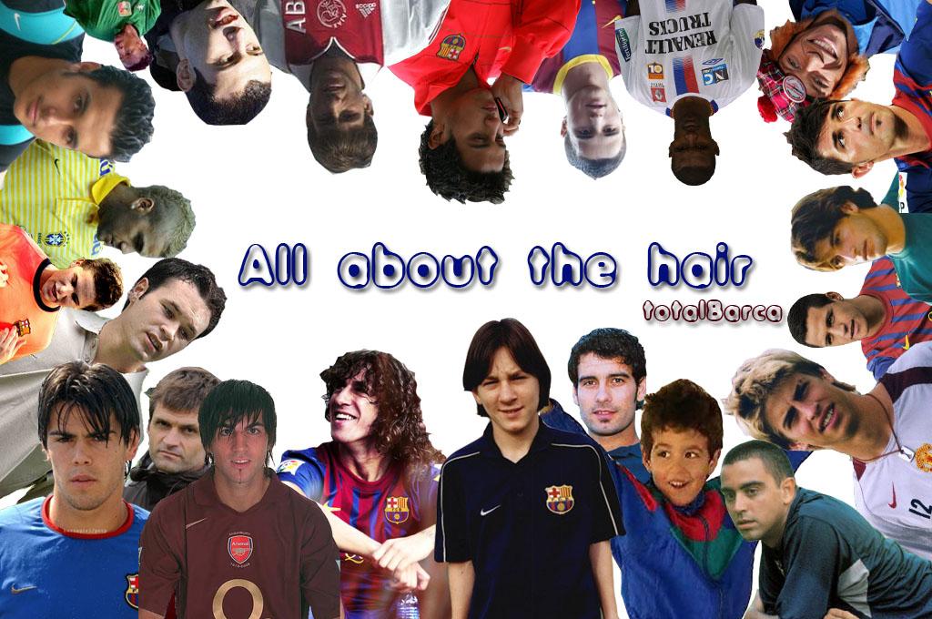 Fryzury Blaugrana – część II