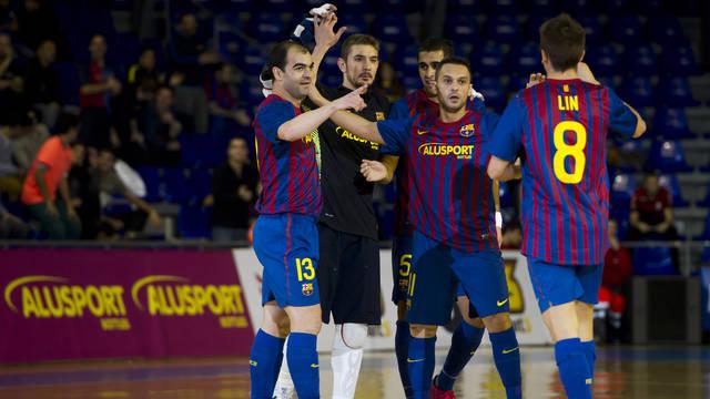 """Alusport Barcelona 6 – 0 L""""Era Pack Chrudim"""