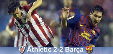 Niezastąpiony Messi daje remis: Bilbao – Barça 2:2