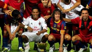Milan i Barcelonę łączą dobre relacje