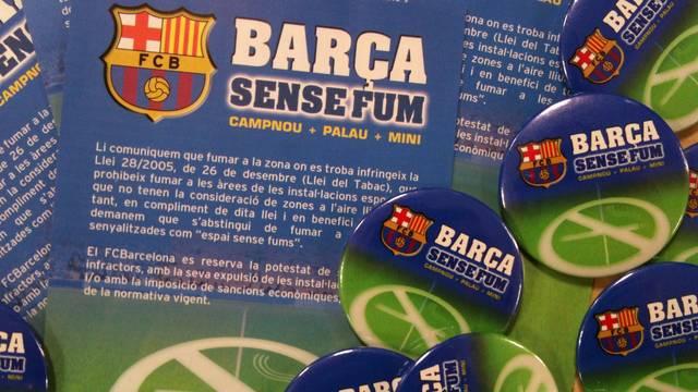 """Rozpoczyna się akcja """"Barça sense fum"""""""