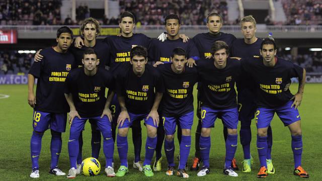 Barça B dla Tito Vilanovy