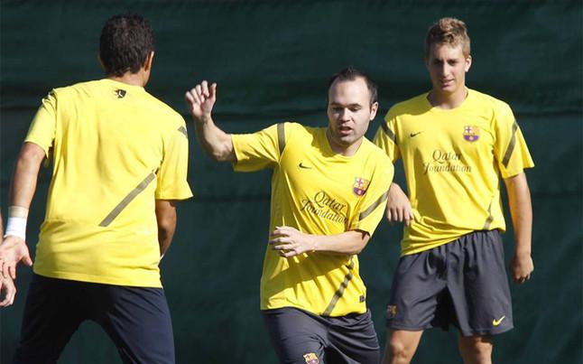 Guardiola trenuje z młodszymi