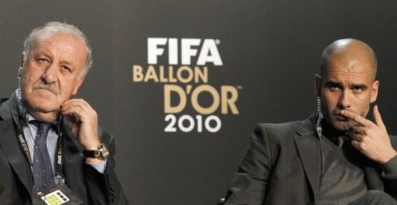 Del Bosque zagłosował na Messiego