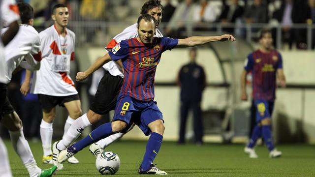 Iniesta: Cieszę się z gola